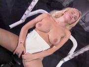 Sexy bitch Courtney fucked by gym instructor