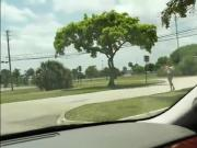 Tight teen Kirsten Lee banged in the car