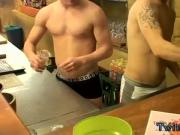 Gay twink vs bears Corbin & PJ - Underwear Night After Hours