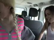 Nice and wild Roadtrip hardsex action with hot teens