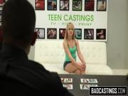 Girl next door comes to a casting