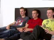 Sweetest young boy bum gay first time Luke Desmond, Reece Bentley & Mike