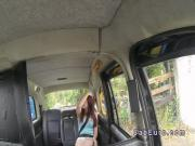 Dutch amateur flashing in British cab