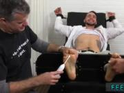 Gay sleeping feet worshiping KC Gets Tied Up & Revenge Tickled