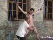 Young gay twink bondage nude movietures Sean McKenzie is corded up and at