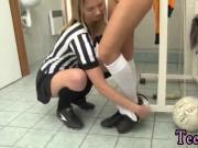 Brunette teen perfect ass Brazilian player plowing the referee
