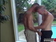 Brett fucks Trit hard on his back and making him his bitch