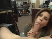 Hot babe sells her guitar and screwed