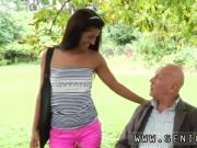 Old eating young pussy first time Vivien meets Hugo in the park and can't