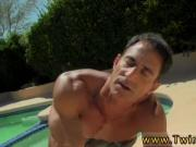 Gay curve dick fuck Daddy Poolside Prick Loving