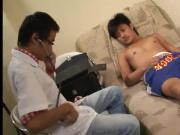 Asian Twinks Albert and Guy Barebacking