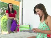 Milf Ray Vaness fucks a lesbian teen for cash