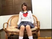 Ai Kazumi plays with pussy during school hours