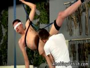 Gay fat wrestler loser get fuck first time He's fast to get on that