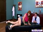 Lovely redhead babe Penny Pax enjoys anal fuck with Danny D