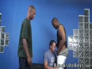 Hung black studs sharing a white guy