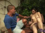 Black fuck husband bisexual first time Miho gets porked in the backyard