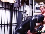 Real nude men straight uncut gay Dungeon master with a gimp
