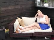 Horny teen Tiffany steals and fucks her stepmums bf