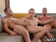 Mark Dante and Brad love hot anal sex in a sweet threesome