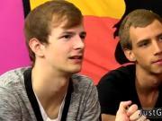 Xxx gay teen boy kissing and hairless twink fucked Ryker's lollipop is