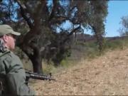 Civilian girl gets pounded by pervert border patrol officer