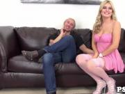 Busty webcam beauty Natalia Starr cockriding