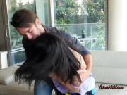 Hot Teen Gets Serviced By Well Hung Tutor