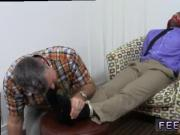 Gay men footjob movietures Chase LaChance Tied Up, Gagged & Foot Worshiped