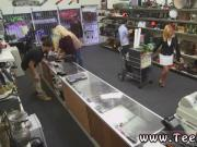 Blonde teen tits ass Hot Milf Banged At The PawnSHop