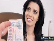 Amateur Eurobabe gets pounded for cash