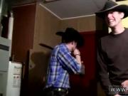 Orgasm male gay porn Cowboys Ty & Lee Pissing Up the Garage!