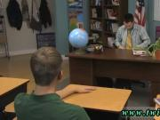 Cute boy man gay porn first time The lad sitting behind the teacher's
