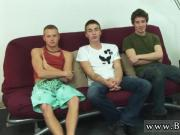 Free gay porn movies of chubby and boy kissing Preston, Ashton and Leon