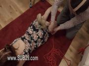 Extreme whore violently ana banged and banged BDSM sub
