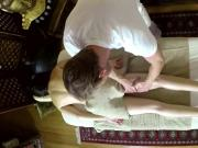 Nasty masseur copulate his customers