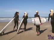 Hd teen pov leggings and black haired teen pov The best surfer chicks