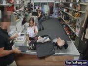 Latina stewardess screwed by pawn dude
