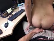 Handjob cumshot on boobs College Student Banged in my pawn shop!