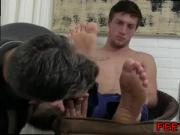 Football coach fucks male student mobile gay porn Logan's Feet & Socks