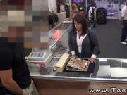 Girl using dildo in public MILF sells her husband's stuff for bail $$$