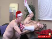 Santa Claus nails a ho ho ho
