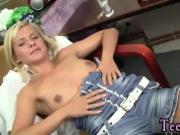 Homemade pov cowgirl full length Cute blonde Bella gets drilled POV