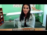 Nurse rubs huge tits of patient in fake hospital