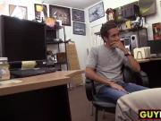 Straight dude gets fucked in the ass by a pawn shop owner