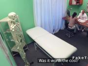 Doctor fucks beautiful tanned patient