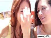 Lovely girlfriends spends quality time in hot lesbo sextape