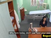 Bogus euro doctor doggystyle fucking patient