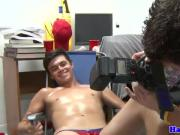 Initiated gaystraight spitroasted in dorm room