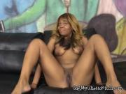 Hoe Mocha Sinn Plays With Herself And Deepthroats